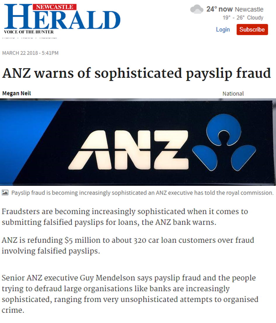 ANZ paylsip fraud